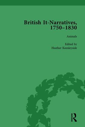 British It-Narratives, 1750–1830, Volume 2: 1st Edition (Hardback) book cover