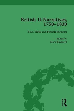 British It-Narratives, 1750–1830, Volume 4: 1st Edition (Hardback) book cover