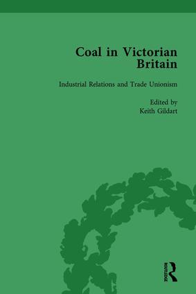 Coal in Victorian Britain, Part II, Volume 6: 1st Edition (Hardback) book cover