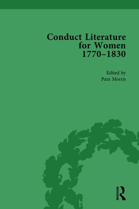 Conduct Literature for Women, Part IV, 1770-1830 vol 4: 1st Edition (Hardback) book cover