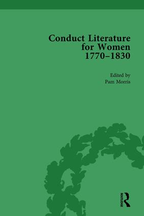Conduct Literature for Women, Part IV, 1770-1830 vol 5: 1st Edition (Hardback) book cover