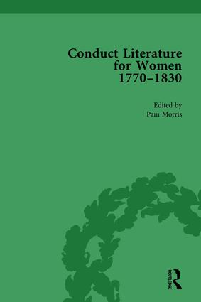 Conduct Literature for Women, Part IV, 1770-1830 vol 6: 1st Edition (Hardback) book cover