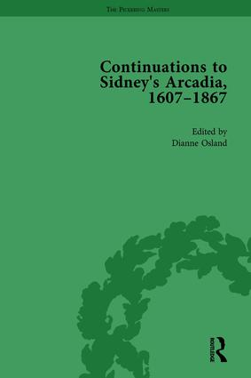 Continuations to Sidney's Arcadia, 1607–1867, Volume 3: 1st Edition (Hardback) book cover