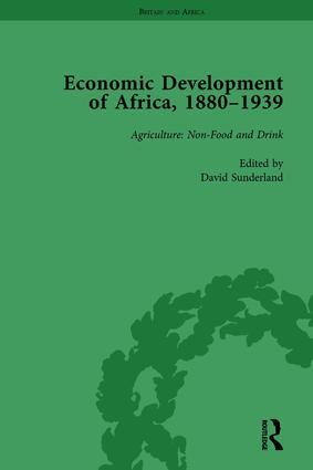 Economic Development of Africa, 1880–1939 vol 1: 1st Edition (Hardback) book cover