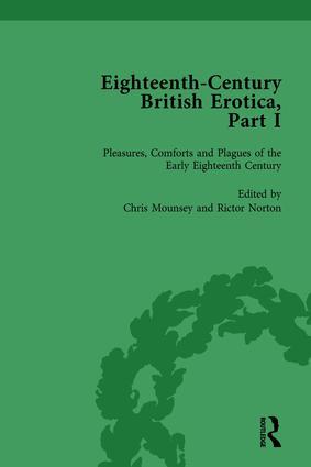 Eighteenth-Century British Erotica, Part I vol 1: 1st Edition (Hardback) book cover