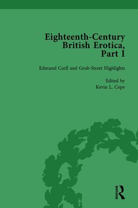 Eighteenth-Century British Erotica, Part I vol 2: 1st Edition (Hardback) book cover