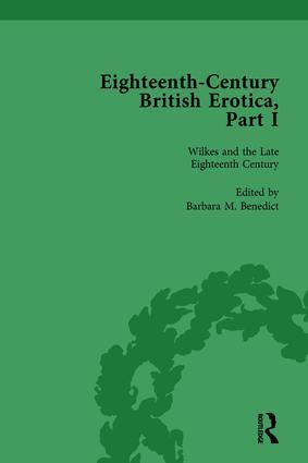 Eighteenth-Century British Erotica, Part I vol 4: 1st Edition (Hardback) book cover