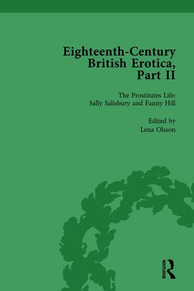 Eighteenth-Century British Erotica, Part II vol 4: 1st Edition (Hardback) book cover
