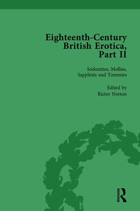 Eighteenth-Century British Erotica, Part II vol 5 (Hardback) book cover