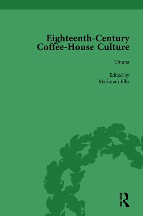 Eighteenth-Century Coffee-House Culture, vol 3 book cover