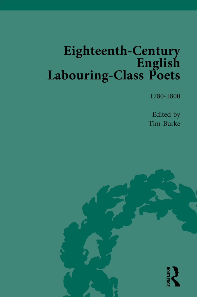 Eighteenth-Century English Labouring-Class Poets, vol 3: 1st Edition (Hardback) book cover