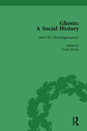 Ghosts: A Social History, vol 1: 1st Edition (Hardback) book cover