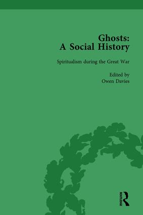 Ghosts: A Social History, vol 5: 1st Edition (Hardback) book cover