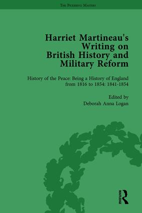 Harriet Martineau's Writing on British History and Military Reform, vol 5: 1st Edition (Hardback) book cover