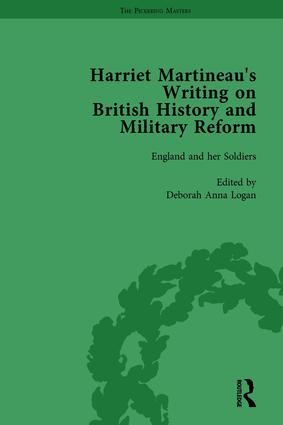 Harriet Martineau's Writing on British History and Military Reform, vol 6: 1st Edition (Hardback) book cover