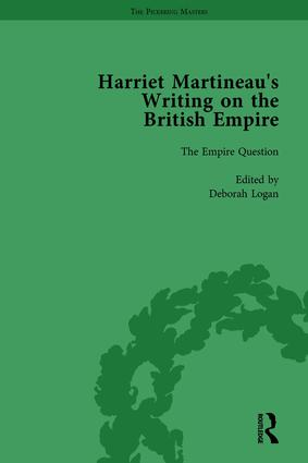 Harriet Martineau's Writing on the British Empire, vol 1: 1st Edition (Hardback) book cover