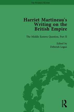 Harriet Martineau's Writing on the British Empire, vol 3: 1st Edition (Hardback) book cover