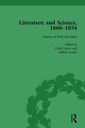 Literature and Science, 1660-1834, Part I. Volume 2: 1st Edition (Hardback) book cover