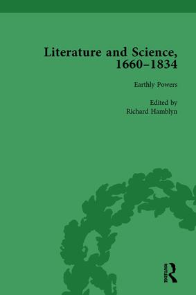 Literature and Science, 1660-1834, Part I. Volume 3: 1st Edition (Hardback) book cover