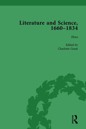 Literature and Science, 1660-1834, Part I, Volume 4: 1st Edition (Hardback) book cover