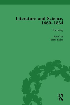 Literature and Science, 1660-1834, Part II vol 8: 1st Edition (Hardback) book cover