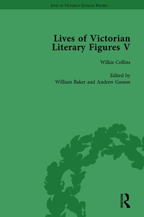 Lives of Victorian Literary Figures, Part V, Volume 2: Mary Elizabeth Braddon, Wilkie Collins and William Thackeray by their contemporaries, 1st Edition (Hardback) book cover