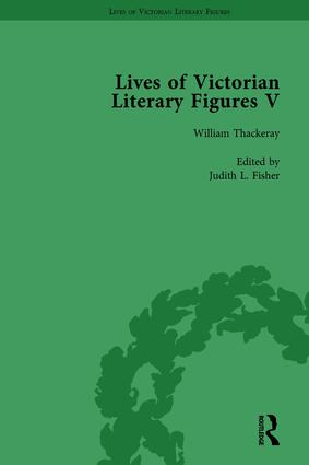 Lives of Victorian Literary Figures, Part V, Volume 3: Mary Elizabeth Braddon, Wilkie Collins and William Thackeray by their contemporaries, 1st Edition (Hardback) book cover