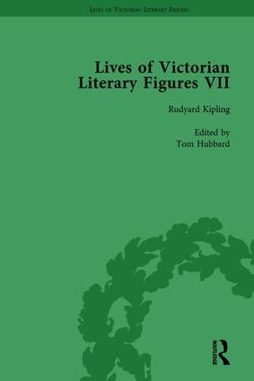 Lives of Victorian Literary Figures, Part VII, Volume 3: Joseph Conrad, Henry Rider Haggard and Rudyard Kipling by their Contemporaries, 1st Edition (Hardback) book cover