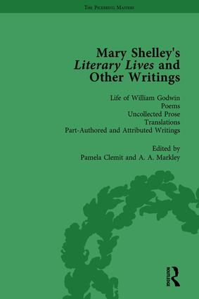Mary Shelley's Literary Lives and Other Writings, Volume 4: 1st Edition (Hardback) book cover