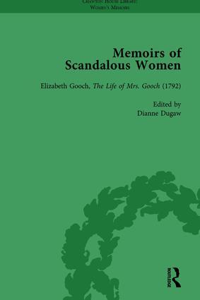 Memoirs of Scandalous Women, Volume 4: 1st Edition (Hardback) book cover