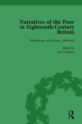 Narratives of the Poor in Eighteenth-Century England Vol 5 book cover