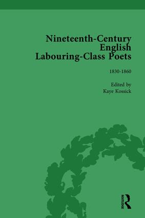 Nineteenth-Century English Labouring-Class Poets Vol 2: 1st Edition (Hardback) book cover