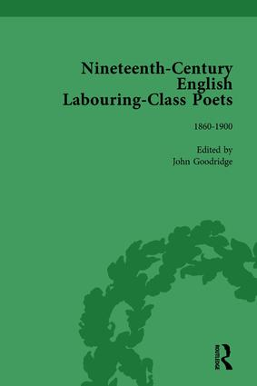 Nineteenth-Century English Labouring-Class Poets Vol 3: 1st Edition (Hardback) book cover