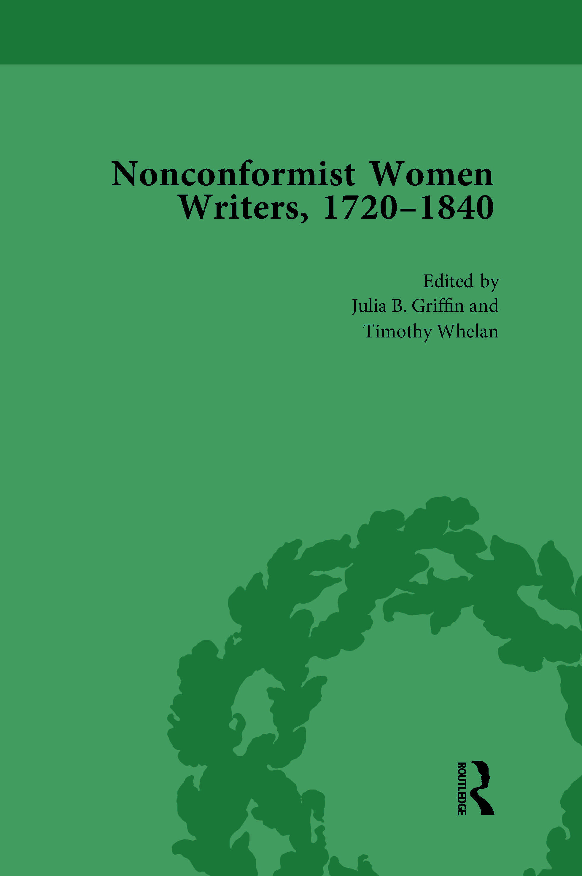 Nonconformist Women Writers, 1720-1840, Part I Vol 1: 1st Edition (Hardback) book cover