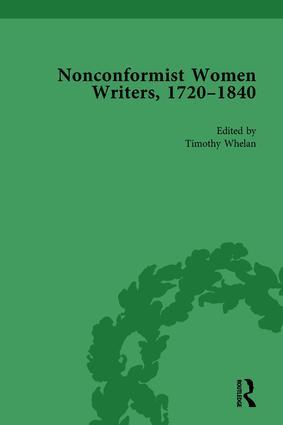 Nonconformist Women Writers, 1720–1840, Part II vol 7: 1st Edition (Hardback) book cover