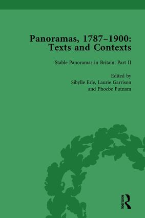 Panoramas, 1787–1900 Vol 2: Texts and Contexts, 1st Edition (Hardback) book cover