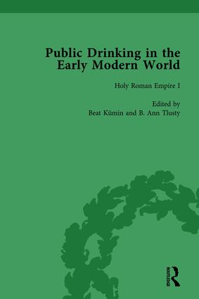 Public Drinking in the Early Modern World Vol 2: Voices from the Tavern, 1500–1800, 1st Edition (Hardback) book cover