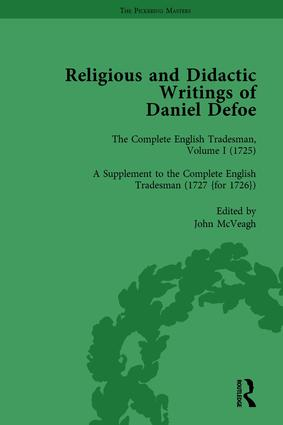 Religious and Didactic Writings of Daniel Defoe, Part II vol 7: 1st Edition (Hardback) book cover