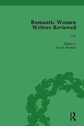 Romantic Women Writers Reviewed, Part II vol 6: 1st Edition (Hardback) book cover