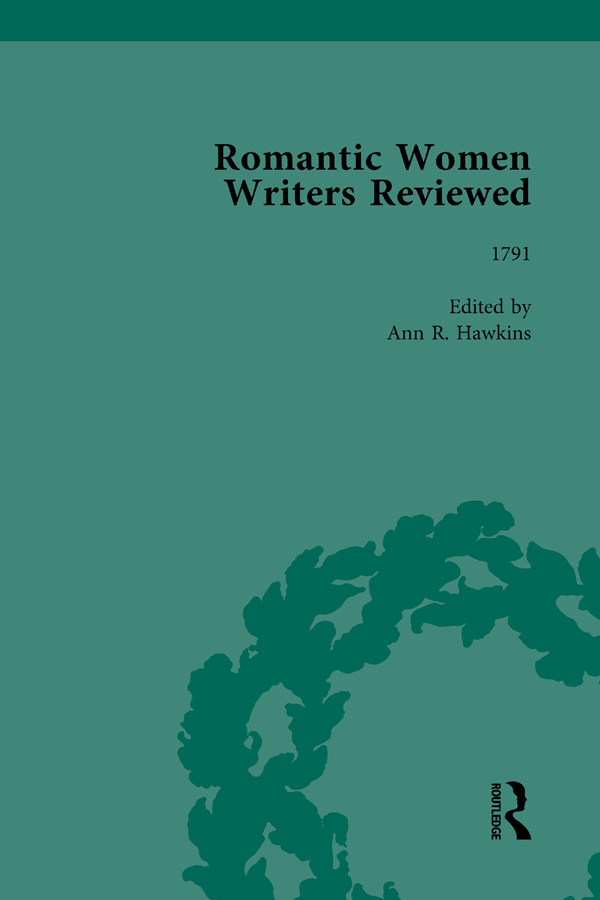 Romantic Women Writers Reviewed, Part III vol 8: 1st Edition (Hardback) book cover