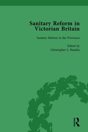 Sanitary Reform in Victorian Britain, Part I Vol 2: 1st Edition (Hardback) book cover