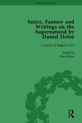 Satire, Fantasy and Writings on the Supernatural by Daniel Defoe, Part II vol 7: 1st Edition (Hardback) book cover