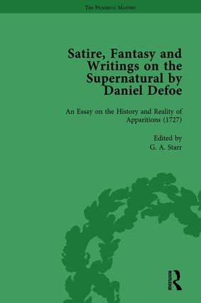 Satire, Fantasy and Writings on the Supernatural by Daniel Defoe, Part II vol 8: 1st Edition (Hardback) book cover