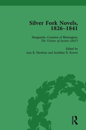 Silver Fork Novels, 1826-1841 Vol 4: 1st Edition (Hardback) book cover