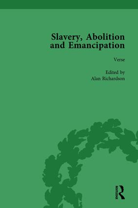 Slavery, Abolition and Emancipation Vol 4: Writings in the British Romantic Period, 1st Edition (Hardback) book cover