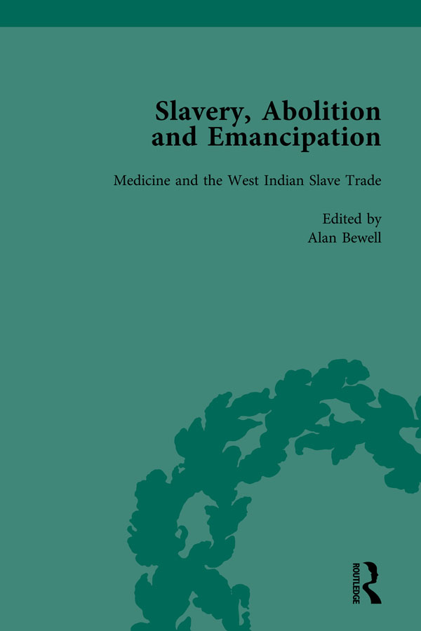 Slavery, Abolition and Emancipation Vol 7: Writings in the British Romantic Period, 1st Edition (Hardback) book cover