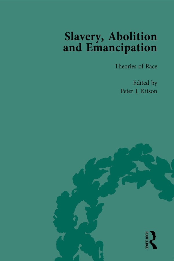 Slavery, Abolition and Emancipation Vol 8: Writings in the British Romantic Period, 1st Edition (Hardback) book cover