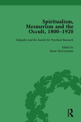 Spiritualism, Mesmerism and the Occult, 1800–1920 Vol 4: 1st Edition (Hardback) book cover
