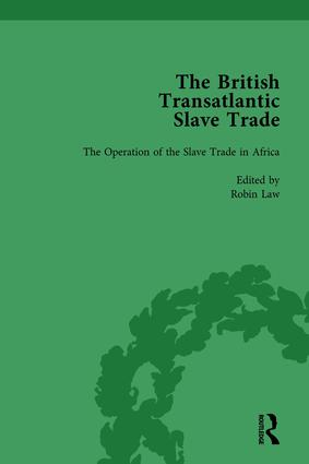 The British Transatlantic Slave Trade Vol 1: 1st Edition (Hardback) book cover