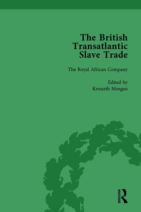 The British Transatlantic Slave Trade Vol 2: 1st Edition (Hardback) book cover